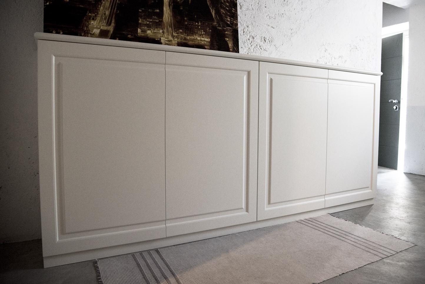 Mobile scarpiera artigiana legno - Mobile corridoio ...